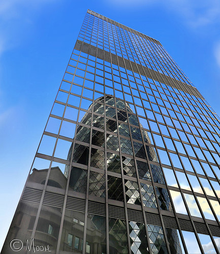 Reflections of London  -  The Aviva Building