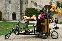 La compagnie Stromboli à Blandy-les-Tours