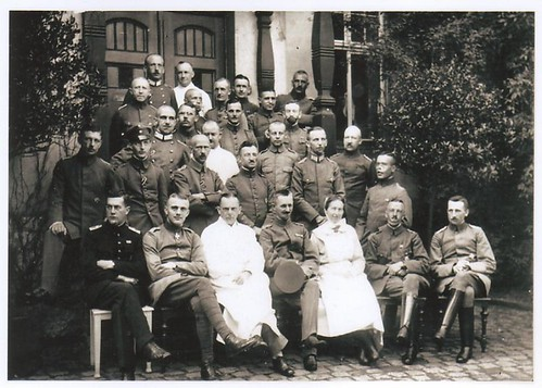 Lothar von Richthofen and Group