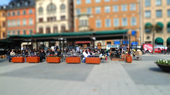 Walking Around Stockholm Tiltshift
