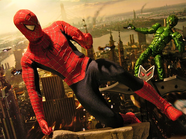 Spiderman Vs Green Gob...