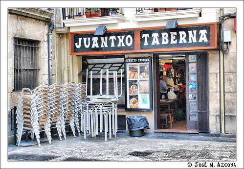 San Sebastián – Donostia. Taberna Juantxo.