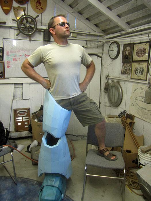 SM Leg Test Fit 2
