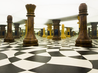 An Infinite Chessboard