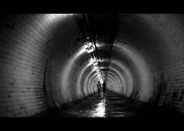 Under Thames...