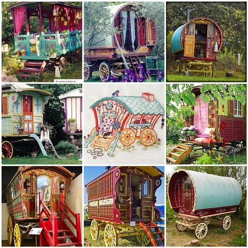 Friday Funspiration: Gypsy wagons