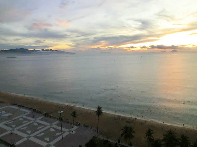 Early-morning Nha Trang Beach