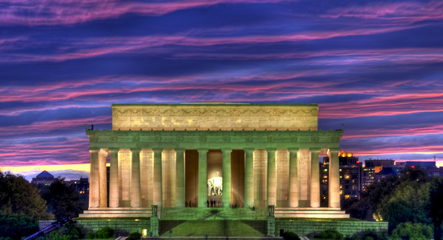 Lincoln Memorial – No artificial colouring
