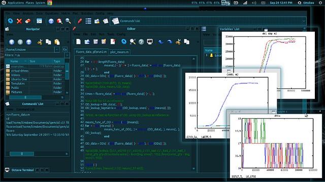 QTOctave, MatLab, programmazione, Linux, Ubuntu