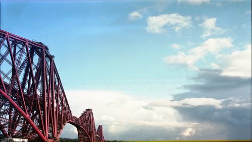 Forth Rail Bridge, Mamiya Universal - Portra 160