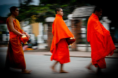 Monks, Laos