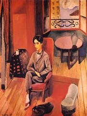 Jean Cocteau, 1916, by Moise Kisling