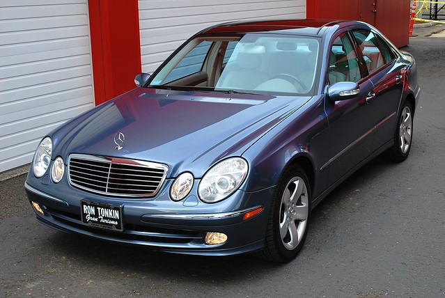 problems with 2003 mercedes benz e320 panoramic roof