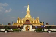 Vientiane : Pha That Luang