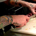 (Hard Work!) Chef Michael Voltaggio at ink
