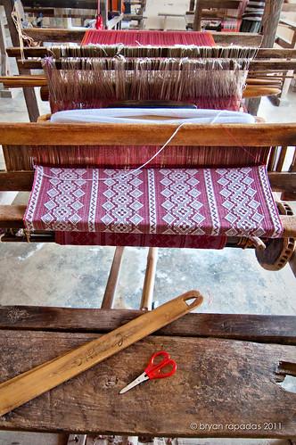 santiago sunset beach thread landscape dock cove bamboo yarn textile cloth abel seashore making weaving wrecked ilocossur ilocano inabel ilocana panagabel abeliloco