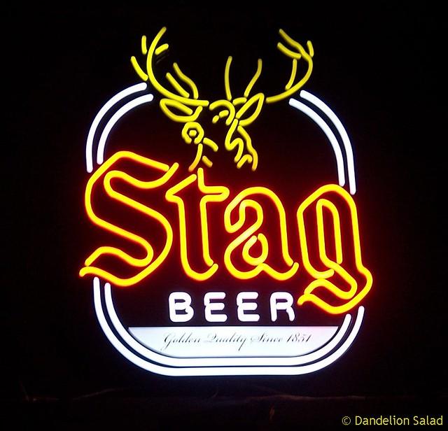 stag beer logo