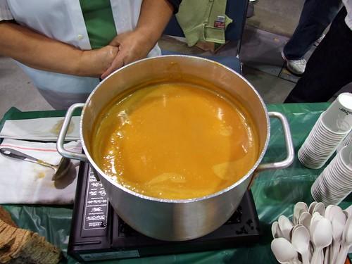 Vert Catering's Sweet Potato Soup (with Nickelbrook Organic Beer)