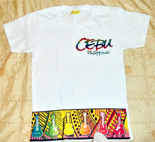 Souvenir cebu t shirt p pesos cebu philippines for Philippines t shirt design