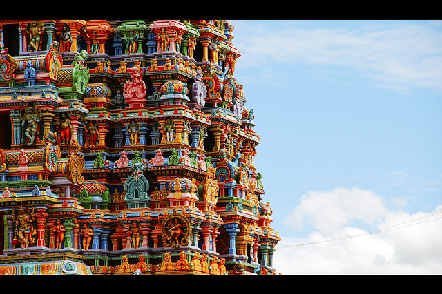 6231574226 36212304b0 z - Los templos Vímana en la India