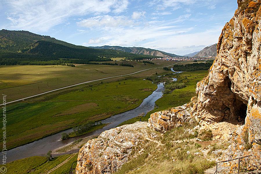 Усть-Канская пещера, река Чарыш