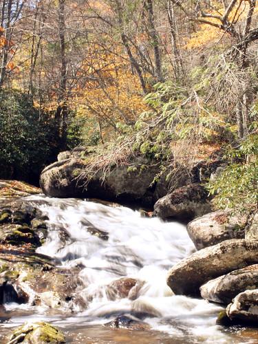 autumn fall creek virginia rocks stream nps nationalparkservice nationalrecreationarea mountrogers graysoncounty