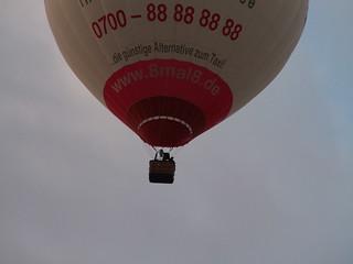 Ballon Luftmassen erfaßt 002