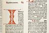 Manuscript initial in Berchorius, Petrus: Liber Bibliae moralis