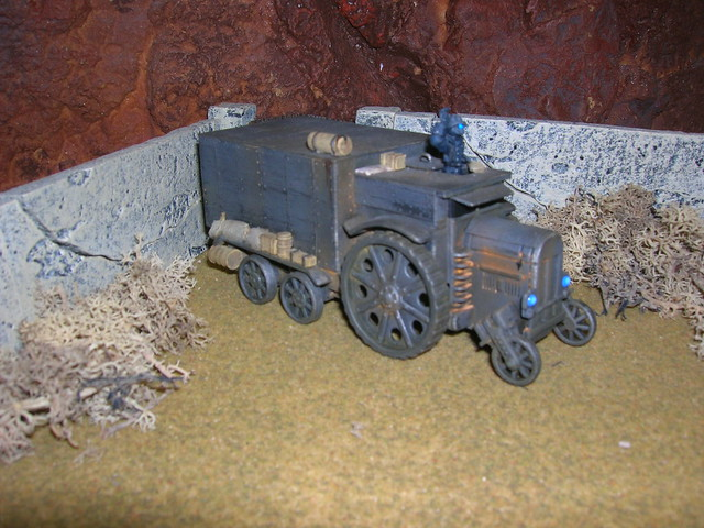 Steam Lorry