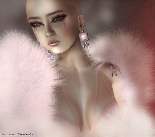 Cao~Tears  Pretty Bald In Pink Campaign