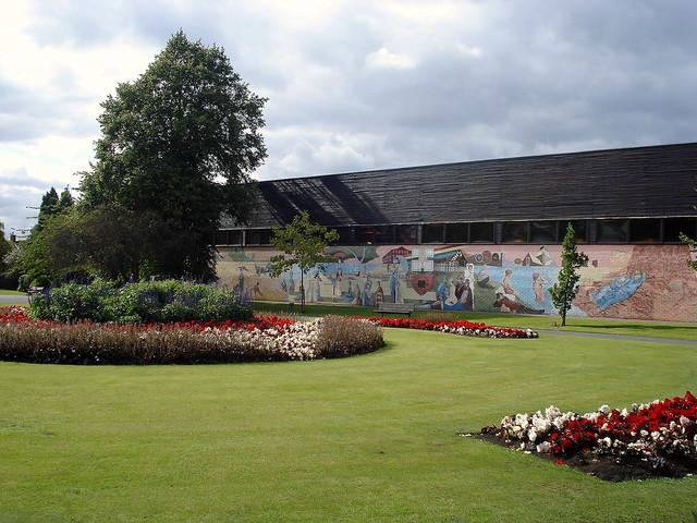 Victoria park denton swimming pools mural flickr - Denton swimming pool denton manchester ...