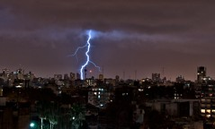 Rayos sobre Buenos Aires XXIV - Lightnings over Buenos Aires XXIV