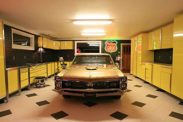 Custom Garage Design And Furnished By VAULT Flickr Photo Sharing