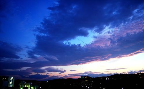 sunset cloud sendai ramadhan