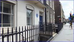 Photo of Millicent Fawcett blue plaque