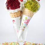 Inside the Ice cream cake pops