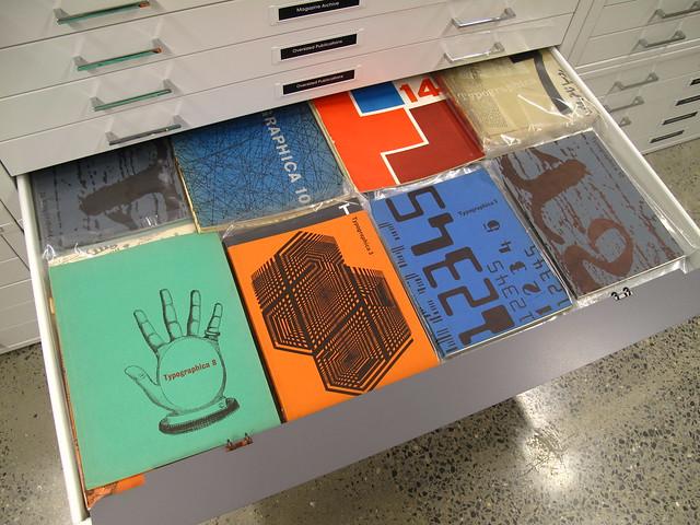 """""""Typographica"""" magazine collection"""