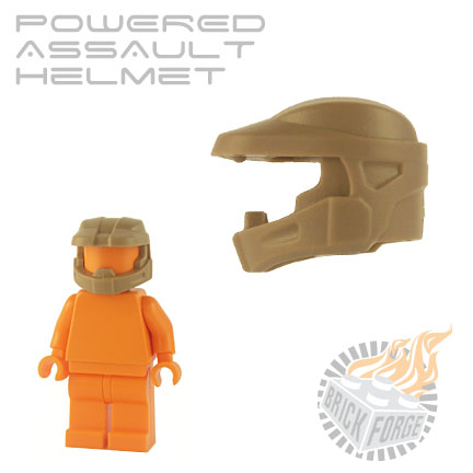 Powered Assault Helmet - Dark Tan
