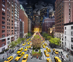 stephen wilkes - photograph - Day to night new york