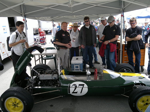 GGLC Paddock Tour @ 2011 Monterey Motorsports Reunion