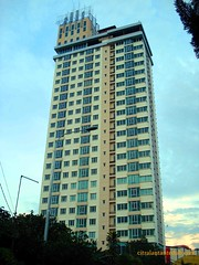 Batam City Condominium - Tampak Samping