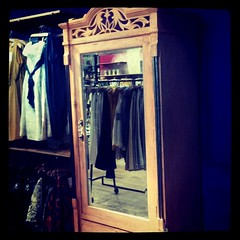 Instragram Anthropologie mirror armoire