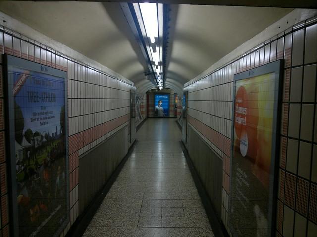 Empty Underground, Baker Street