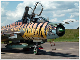 Polish Air Force SU-22 Fitter
