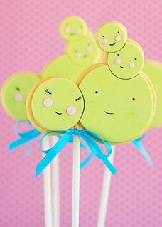 Little Peas Sugar Cookie Pops 2