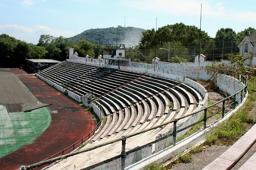 Classic Amphitheatre Seating At Paterson's Hinchliffe Stadium