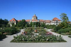 Hauptgebäude - Botanischer Garten