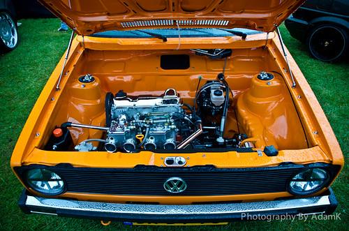 MK1 Golf Engine Shot