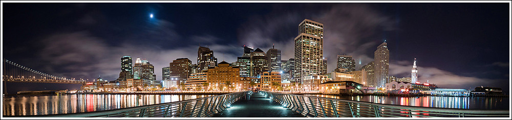 248 of 365 - Embarcadero, San Francisco Pano.