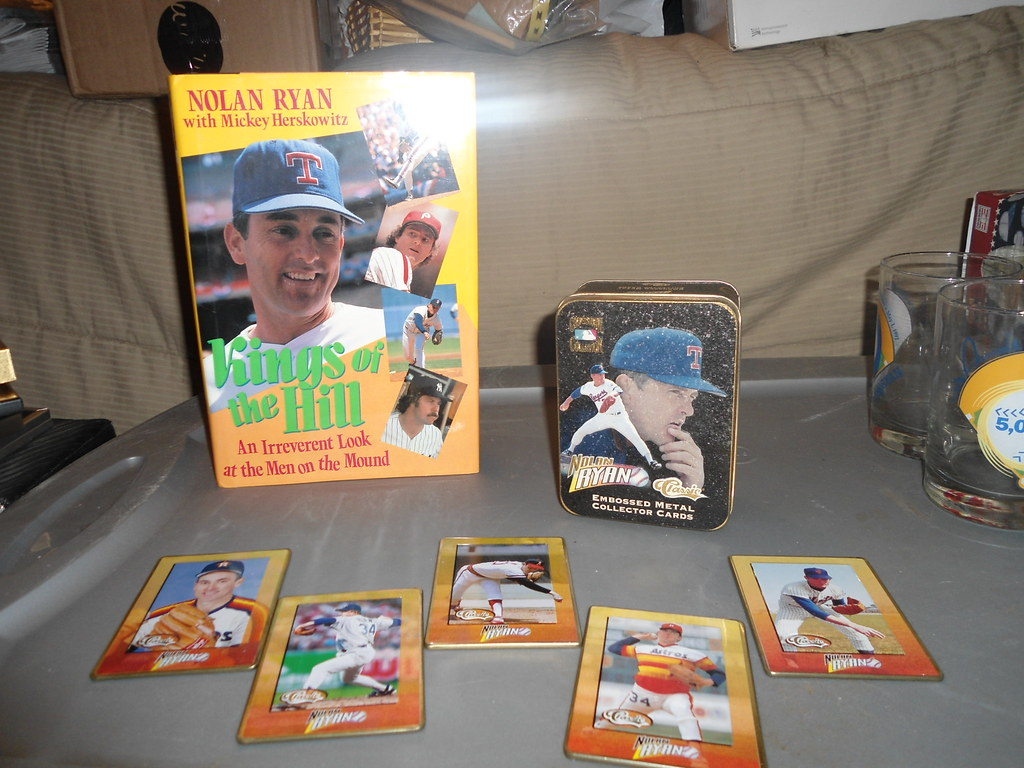 Nolan Ryan Book ($3 obo) & Cards ($10 obo)
